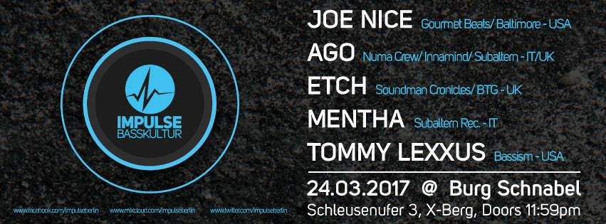 Impulse Berlin // 24.3 // Win Free Tickets!