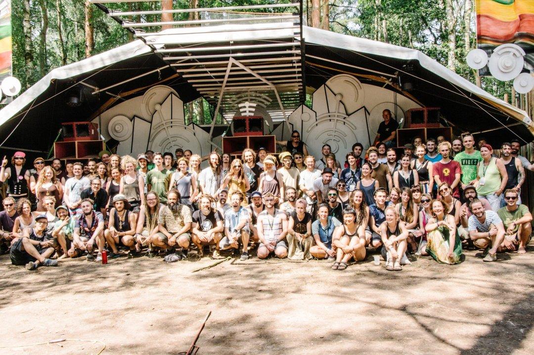 Rootsbase Crew at Fusion 2019