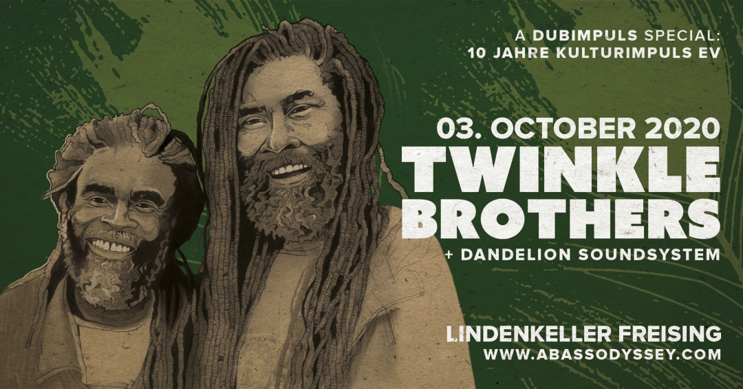 Twinkle Brothers - Lindenkeller Freising - Event Banner (New - WEB)