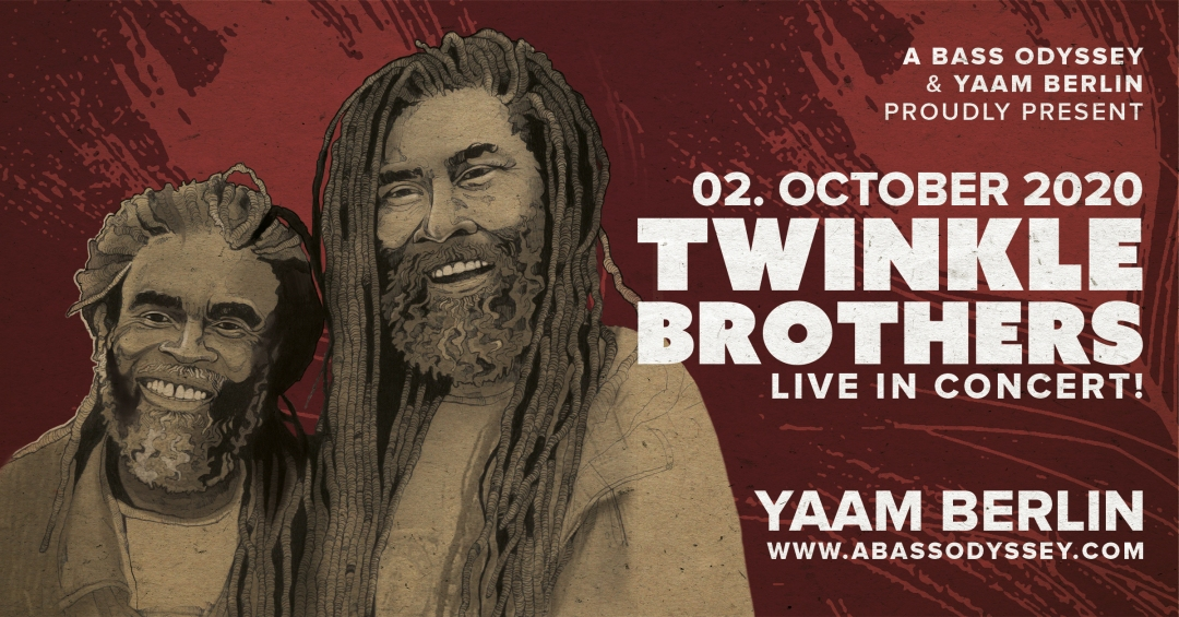 Twinkle Brothers - YAAM Berlin - Event Banner (New - WEB)